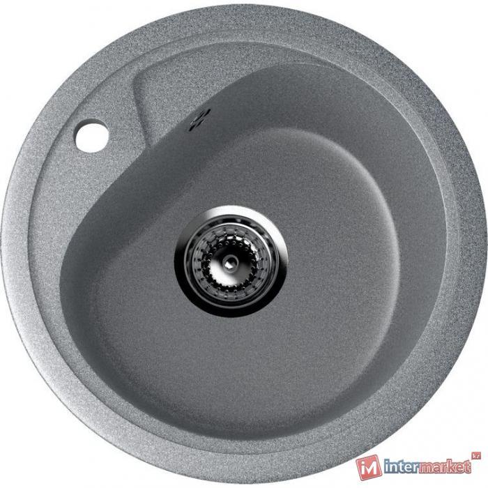 Врезная кухонная мойка 44 см EcoStone ES-10 309 темно-серый