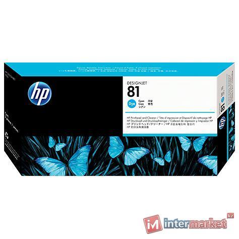 Печатающая головка HP C4951A 81, Cyan (с устройством очистки)