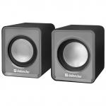 Компактная акустика 2.0 Defender SPK 22, серый