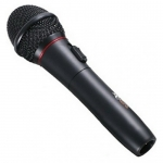 Microphone Ritmix RWM-101, 600 Ohm, 100-10000Hz, 72dB, XLR -> 6.3mm, wireless/wired 5m cable, black