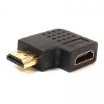 Переходник PowerPlant HDMI AF - HDMI AM, правый угол