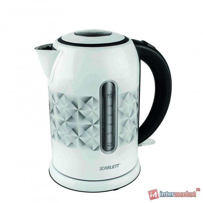 Чайник Scarlett SC-EK21S03 белый