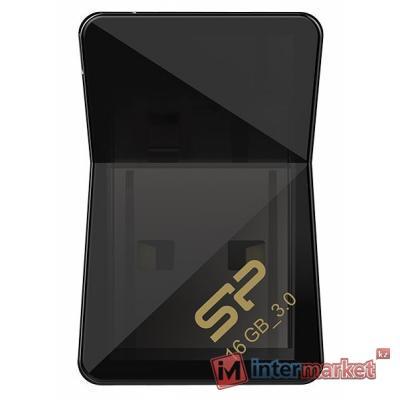 Флэш накопитель Silicon Power UFD 3.0, Jewel J08, 16GB, Black